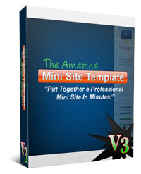 Amazing Mini Site Template V3